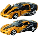 C6 Corvette 2005 Model 1:24 Scale  - Yellow / Black