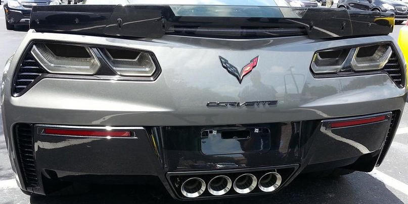 C7 Corvette Stingray/Z06/Grand Sport 2014+ Rear Tail Light Blackout Kit    Acrylic (4Pc.) | Corvette Mods