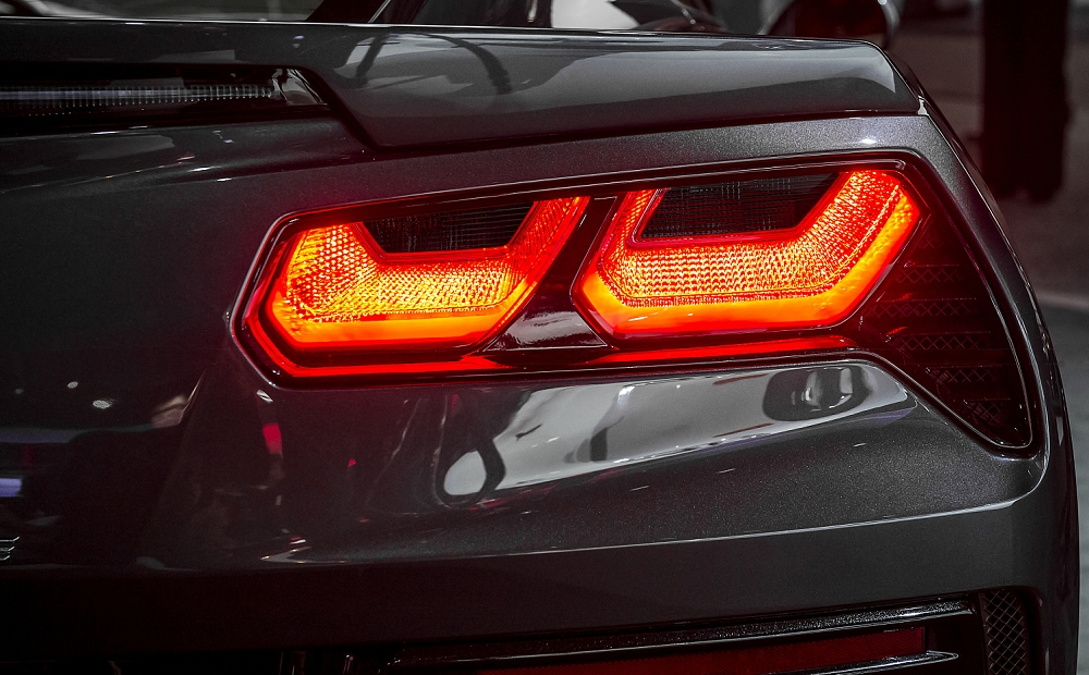 C7 Corvette Stingray Z06 Grand Sport 2014 Rear Tail Light