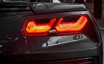 C7 Corvette Stingray/Z06/Grand Sport 2014-2019 Rear Tail Light Blackout Overlay Kit Decals