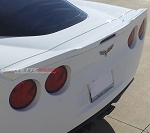 C6 Corvette 2005-2013 Custom Painted ZR1 Style Spoiler - Easy Installation No Drill Design