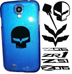 C6 C7 Corvette Stingray/Z06/Grand Sport 2005-2014+ Custom Painted Samsung Phone Cases - Acrylic Decals