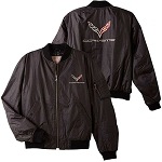 C7 Corvette Stingray/Z06/Grand Sport 2014+ Aviator Jacket - Logo / Script
