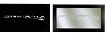 C7 Corvette Stingray 2014+ Framed Stingray Mirror - Black or Silver