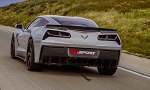 C7 Corvette Stingray/Z06/Grand Sport 2014+ RK Sport Rear Diffuser - Carbon Fiber / Fiberglass