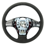 C6 Corvette 2005-2013 Suede/Leather Steering Wheel - Two Stitching Color Options