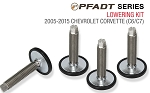 C6 C7 Corvette 2005-2015+ PFADT Series Lowering Kit