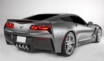 C7 Corvette Stingray/Z06/Grand Sport 2014-2019 Lamin-X or Acrylic - Third Brake Light Blackout