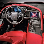 C7 Corvette Stingray/Z06/Grand Sport 2014+ Real Carbon Fiber Interior Dash Replacement