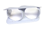 C3 Corvette 1973-1982 Reproduction SMC Fiberglass Headlight Bezels