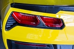 C7 Corvette Stingray / Z06 / Grand Sport 2014+ True Carbon Fiber Tail Light Bezels