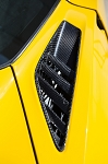 C7 Corvette Stingray/Z06/Grand Sport 2014+ Carbon Fiber Rear Quarter Panel Vents