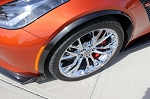 C7 Corvette Stingray/Z06/Grand Sport 2014+ Custom Painted Front Wheel Trim Moldings - Pair