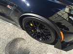 C7 Corvette Z06/Grand Sport 2015+ GM Front Wheel Trim Moldings