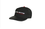 C7 Corvette Stingray 2014+ Fitted Black Cap - W/ Red Stingray Script