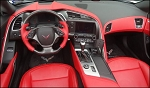 C7 Corvette Stingray/Z06/Grand Sport 2014+ Real Carbon Fiber D Shape Steering Wheel
