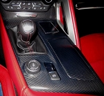 C7 Corvette Stingray/Z06/Grand Sport 2014+ Real Carbon Fiber Shift Bezel