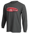 C3 C4 C5 C6 C7 Corvette 1968-2014+ Solid Long Sleeve T-Shirt - Corvette Racing