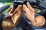 C7 Corvette Stingray 2014+ Custom Fit Seat Covers - Colored Neoprene