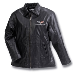 C6 Corvette 2005-2013 Ladies Corvette Lambskin Leather Jacket
