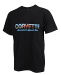 C2 C3 C4 C5 C6 C7 Corvette 1963-2014+ Women's America's Sports Car T-Shirt