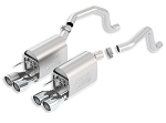 C6 Corvette 2005 - 2013 Borla Axle Back Exhaust System - ATAK