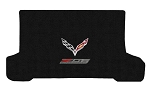 C7 Corvette Z06 2015+ Lloyd Ultimat Crossed Flags / Z06 Supercharged Cargo Mats