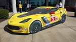 C7 Corvette Stingray/Z06/Grand Sport 2014+ GM C7R Corvette Racing Indoor Car Cover
