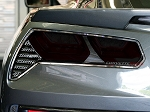 C7 Corvette Stingray/Z06/Grand Sport 2014+ Full Separate Taillight Blackout Cover - Acrylic (4Pc)
