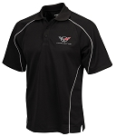 C5 Corvette 1997-2004 Warrior Polo Shirt - Black or Red