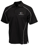 C4 Corvette 1984-1996 Warrior Polo Shirt - Black or Red