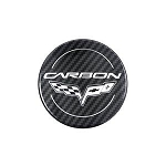 Corvette C6 Carbon Edition Wheel Center Cap