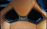 C7 Corvette Stingray/Z06/Grand Sport 2014+ Real Carbon Fiber Upper Seat Bezels - Competition Edition