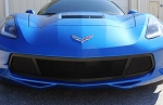 C7 Corvette Stingray/Z06/Grand Sport 2014+ Angled HQ Series Mesh Bumper Grille Replacement - Multiple Finishes