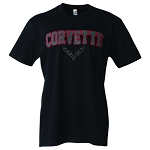 C7 Corvette Stingray/Z06/Grand Sport 2014+ Carbon Fiber Script T Shirt