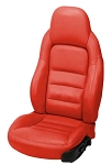 C6 Corvette 2005-2011 Leather Seat Covers