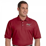 C5 Corvette 1997-2004 50th Anniversary Polo - Men's and Women's - Burgundy