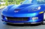 C6 Corvette Z06/Grand Sport Front Splitter Replacement - Hydro Carbon