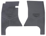 C3 C4 Corvette 1968-1996 Replication Rubber Floor Mats w/ Logos