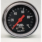 Autometer 2-1/6 inch Fuel Pressure 0-100 PSI - Chrome