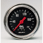 Autometer 2-1/6 inch Oil Pressure 0-200 PSI - Chrome