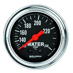 C3 C4 C5 C6 C7 Corvette 1968-2014+ Autometer 2-1/6 inch Water Temperature 120-240F 12ft - Chrome