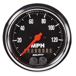 Autometer 3-3/8 inch GPS Speedometer 0-140 MPH - Chrome