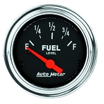 C3 C4 C5 C6 C7 Corvette 1968-2014+ Autometer 2-1/16 inch Fuel Level 0-90 GM SSE