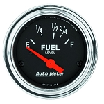 C3 C4 C5 C6 C7 Corvette 1968-2014+ Autometer 2-1/16 inch Fuel Level 16-158 ohm - Chrome