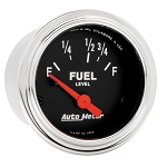 C3 C4 C5 C6 C7 Corvette 1968-2014+ Autometer 2-1/16 inch Fuel Level 73-10 ohm Linear - Chrome