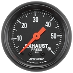 Autometer 2-1/16 inch Exhaust Pressure 0-60 PSI