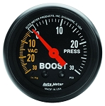 Autometer 2-1/16 inch Boost/Vacuum 30 IN HG/30 PSI