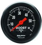 Autometer 2-1/16 inch Boost Gauge 0-60 PSI