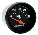 C3 C4 C5 C6 C7 Corvette 1968-2014+ Autometer 2-1/16 inch Differential Temperature 100-250F